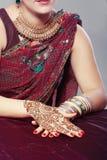 Conception de henné Photographie stock libre de droits
