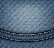 Conception de jeans avec la voûte illustration de vecteur