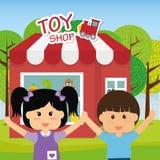 Conception de jouets Photo libre de droits