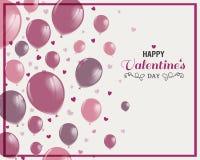 Conception de jour de valentines Photographie stock