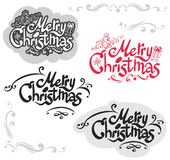 Conception de Joyeux Noël illustration stock