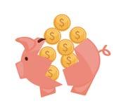 Conception de l'épargne illustration stock