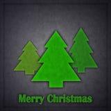 Conception de l'avant-projet d'an neuf - carte de Noël Photos stock