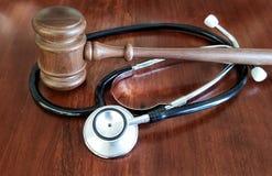 Conception de l'avant-projet de faute professionnelle médicale photographie stock