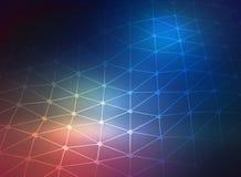 conception de l'espace de grille de l'illustration 3d future illustration stock