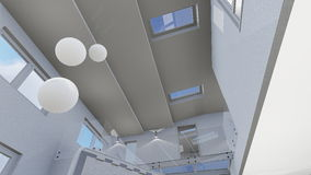 Conception de la maison 3d illustration stock