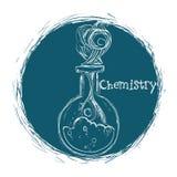 Conception de la Science et de chimie Images libres de droits