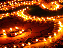 Conception de lampes à pétrole Image libre de droits