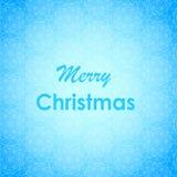 Conception de lettrage de Joyeux Noël Carte de vecteur Fond de vacances Image libre de droits