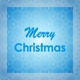 Conception de lettrage de Joyeux Noël Carte de vecteur Fond de vacances Photo libre de droits