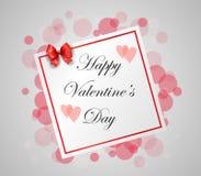 Conception de lettrage heureuse de dessin de main de jour de valentines Photographie stock