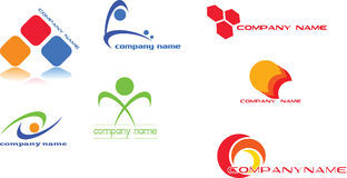Conception de logo Photographie stock libre de droits