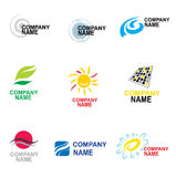 Conception de logo Image stock