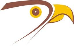 conception de logo de faucon Illustration Stock