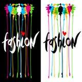 Conception de logo de mode Photo stock