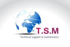 Conception de logo de technologie Images stock