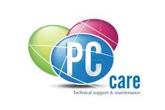 Conception de logo de technologie Photo libre de droits