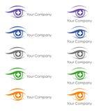 Conception de logo pour l'ophtalmologue illustration de vecteur