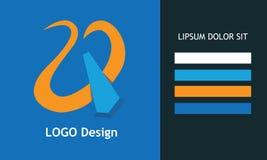 Conception de logo de vecteur Symbole abstrait Pour toute société illustration de vecteur