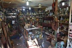 Conception de magasin de substance d'antiquité de Changhaï vieille image stock