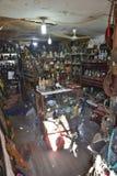Conception de magasin de substance d'antiquité de Changhaï vieille photographie stock
