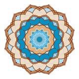 Conception de mandala, éléments décoratifs de vintage, fond ornemental de griffonnage illustration libre de droits