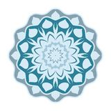 Conception de mandala, éléments décoratifs de vintage, fond ornemental de griffonnage illustration de vecteur