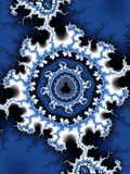 Conception de Mandelbrot Image libre de droits