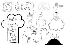 Conception de menu Photo libre de droits