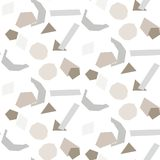 Conception de modèle de vecteur de fond de tuile de formes coupée par papier illustration de vecteur