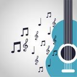 Conception de mode de vie de musique Photo libre de droits