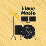 Conception de mode de vie de musique Image stock