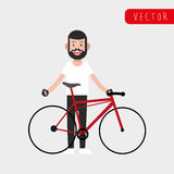 Conception de mode de vie de vélo Image stock