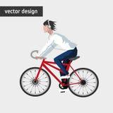 Conception de mode de vie de vélo Photographie stock libre de droits