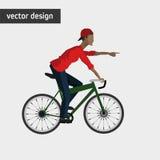 Conception de mode de vie de vélo Photos libres de droits