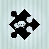 conception de morceau de puzzle Image libre de droits