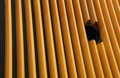 Conception de mur avec les planches en bois Images libres de droits