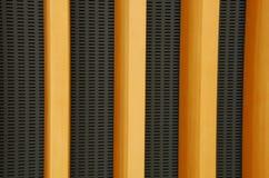 Conception de mur avec les planches en bois Photos stock