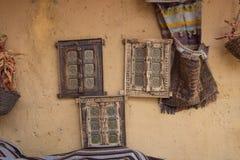 Conception de mur dans le restaurant arabe Photos stock