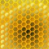 Conception de nid d'abeilles photo libre de droits