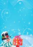 conception de Noël de fond votre Photos libres de droits