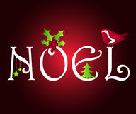 Conception de Noel Photos libres de droits