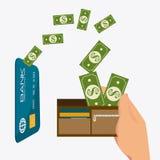 Conception de paiement, illustration de vecteur illustration libre de droits