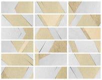 Conception de papier de matière de base de texture de bannières Images stock