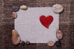 Conception de papier peint de fond d'amour de musique de coeur Photo libre de droits