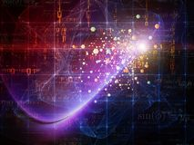 Conception de particules Image libre de droits