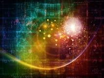 Conception de particules Photographie stock libre de droits