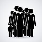Conception de personnes Photographie stock libre de droits