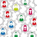 Conception de personnes de diversité illustration de vecteur