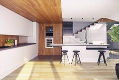 Conception de plancher de grenier Photo libre de droits